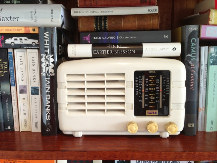 Vintage Bell radio. Previously kept the nurses company at