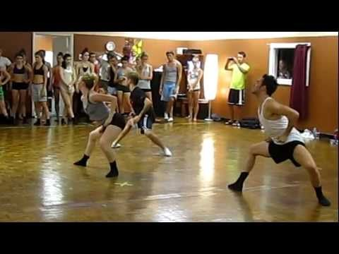 Travis Wall, Addison Reese & Nick Lazzarini. I could watch this over and over and over again