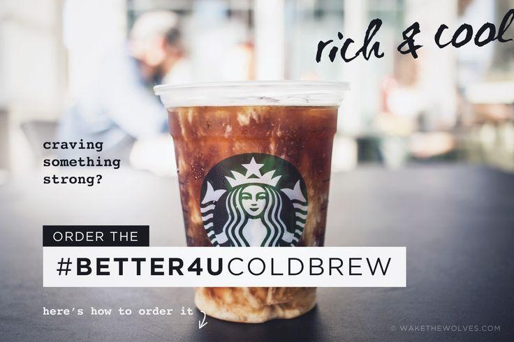 Healthy Starbucks Drinks (Secret Menu)