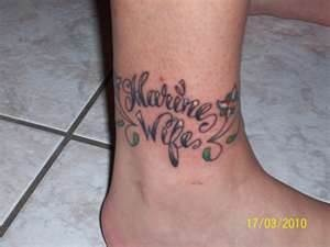 Usmc Wife Tattoos Marine Wife Tat...