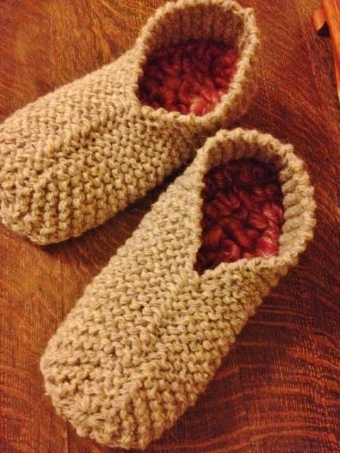 More Thrummed Slippers!