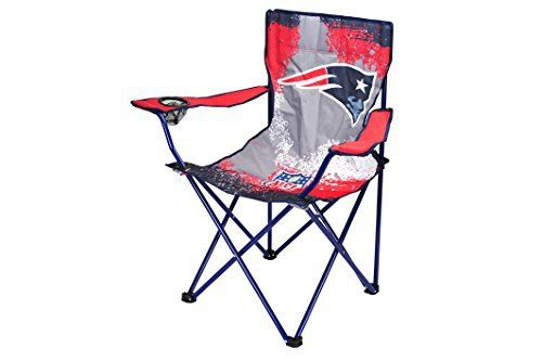 Support your favorite NFL team with the NFL Tween Camp Chair! The chair is perfect for any New England Patriots fan. The foldable frame and canvas carry bag are perfect for storage and going from one sporting event to the next. Sturdy metal frame and canvas fabrication. Seat depth –... more details available at https://furniture.bestselleroutlets.com/children-furniture/chairs-seats/folding-chairs/product-review-for-nfl-new-england-patriots-tween-camp-chair/