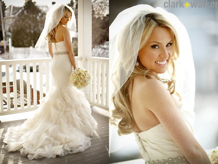 Best 25 Winter Wedding Hairstyles Ideas On Pinterest: 25+ Best Ideas About Veil Hair Down On Pinterest