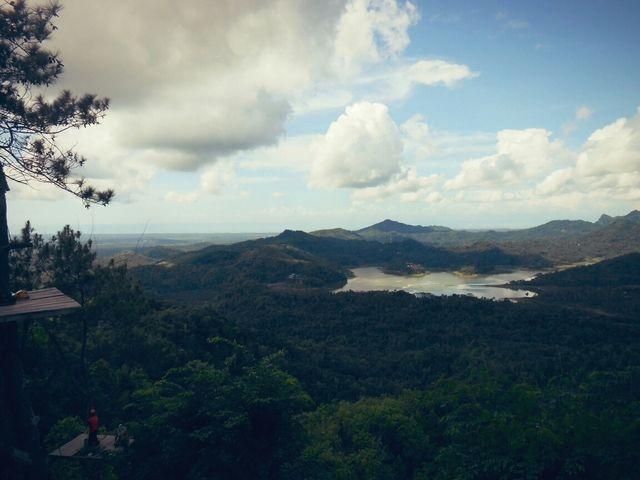 Pemandangan Waduk Sermo dari Kalibiru