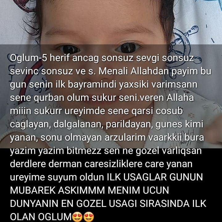 Salam Herkese Basta Tebiki Oz Oglum Olmag Serti Ile Butun Minnoslari 1iyun Munasibeti Ile Tebrik Edirem How Are You Feeling Instagram Instagram Fashion