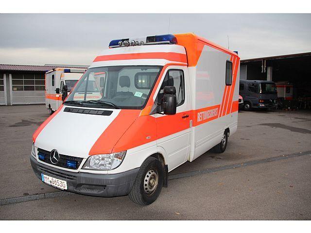 Mercedes-Benz Sprinter 316 CDI Motor, Getriebe getauscht, Kommunal/Sonderfahrzeug Feuerwehr/Rettung in Memmingen, gebraucht kaufen bei AutoScout24 Trucks