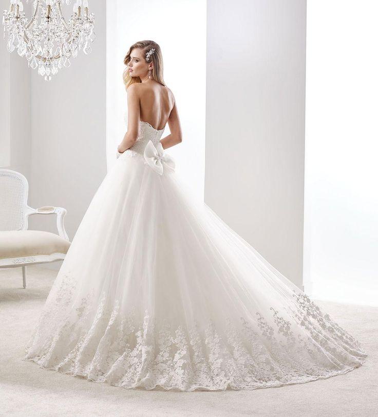 Moda sposa 2016 - Collezione JOLIES. JOAB16506. Abito da sposa Nicole back