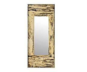 Espejo rectangular en DM prensado – natural envejecido
