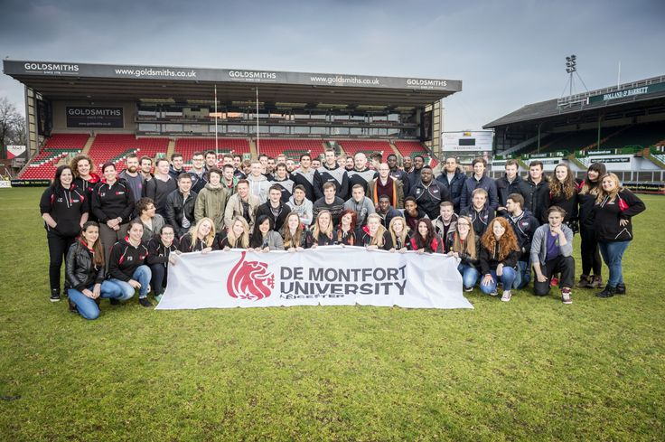 De Montfort University's men's and women's rugby teams were given the perfect motivation ahead of their Varsity grudge matches against the University of Leicester – by meeting Leicester Tigers greats on the hallowed turf of Welford Road.