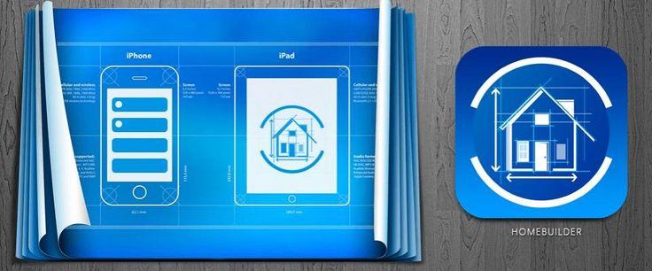 Winning entry for HomeBuilder App icon design on 99designs