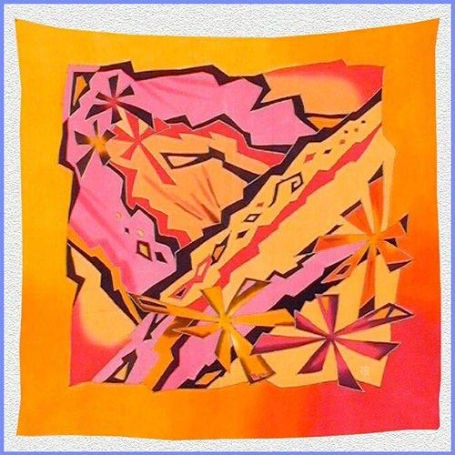 Svetlana Titova Gallery, schilderen op zijde.