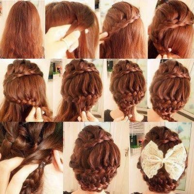 Best Come Mi ACCONCIOTUTORIAL HAIRSTYLE Images On - Hairstyle diy tumblr