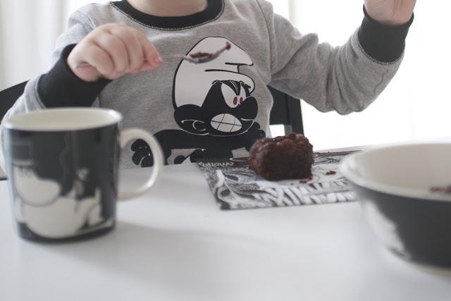 Myke minutter: Brownies med mandelmel