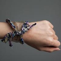 People of Tastes: Global  LUMINIS MAZOTA   #bracelet  #mazota  #luminis  #acc  #peopleoftastes  #antique  #gold  #fabric