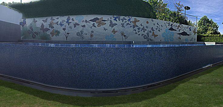 Mosaic tiles for pool & walls