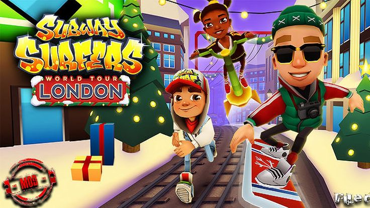 Subway Surfers - LONDON - iPad / iPhone / Android - SUBSCRIBE