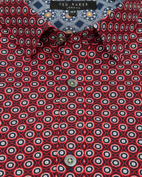 Flower print shirt - Red   Shirts   Ted Baker