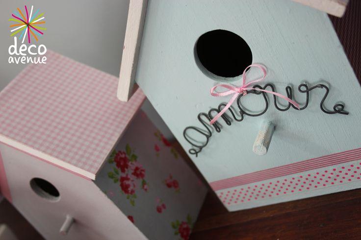 Des petits nichoirs comme on les aiment !