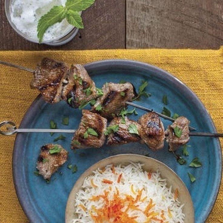 Lamb Kebabs in Pomegranate-Walnut Marinade Recipe on Food52 recipe on Food52