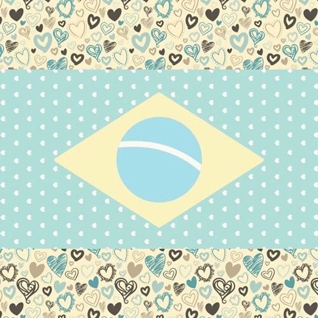 Na torcida pelo Brasil! o/
