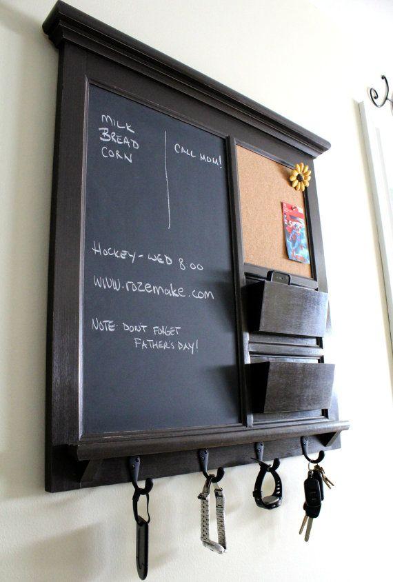 Best 25 kitchen bulletin boards ideas on pinterest cork for Bulletin board organizer