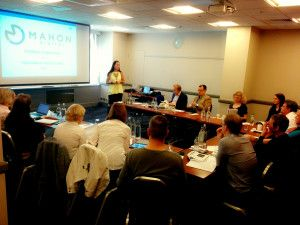 Saija Mahon - talentgate training event 12/05/15