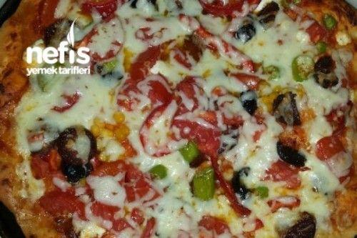 Evde Mükemmel Pizza Tarifi
