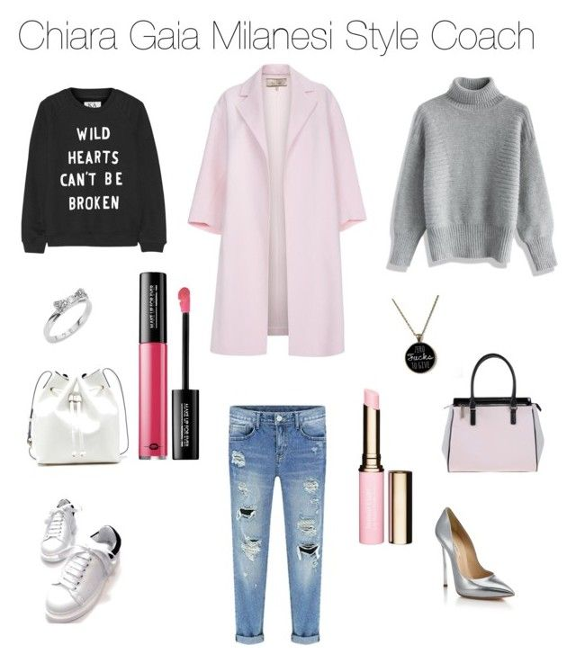 Oh my boyfriend! by chiaragaia on Polyvore featuring polyvore, fashion, style, Zoe Karssen, Chicwish, Paul Smith, Casadei, Versace, Sole Society, Kate Spade, Clarins and MAKE UP FOR EVER.  #boyfriendjeans #boyfriend #outfit #outfitoftheday #Pink #Pumps #pinkcoat #coat #fashionblogger #fashiontrend #fashion #style #StreetStyle #styleicon #styleresolution #stylish
