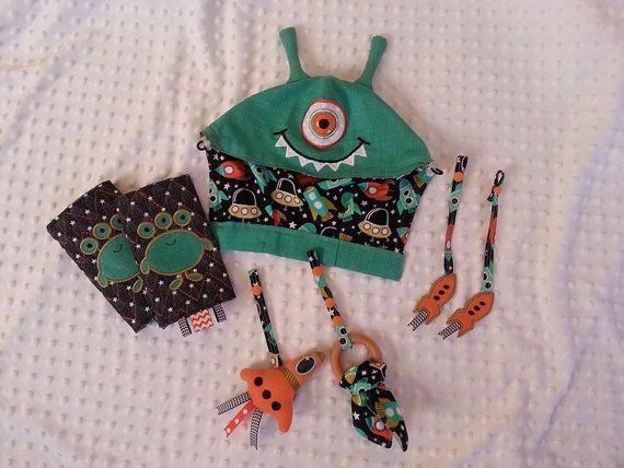 Coming my way!!!        RTS Tula Rockets Alien Theme Hood Drool by PinkCastleTradingCo
