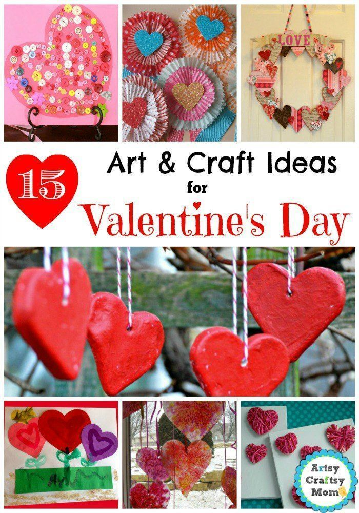 15 Simple Valentine S Day Art And Craft Ideas For Kids Valentine S