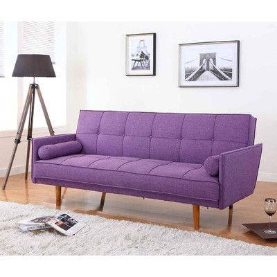 BestMasterFurniture Futon and Mattress Upholstery: Purple