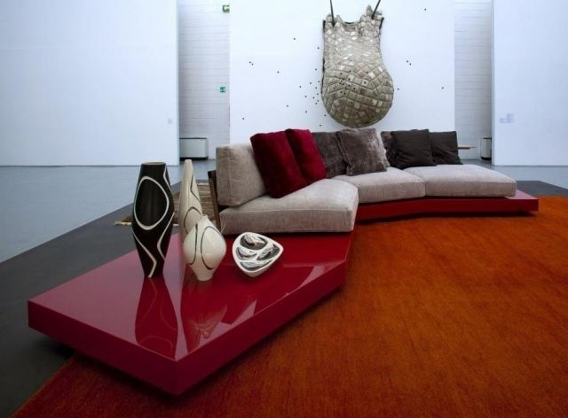 17 meilleures id es propos de table basse rouge sur - Canape d angle marrakech ...