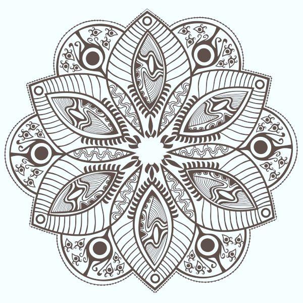 40 Printable Mandala Patterns For Many Uses Bored Art Mandala Coloring Books Abstract Coloring Pages Mandala Coloring Pages