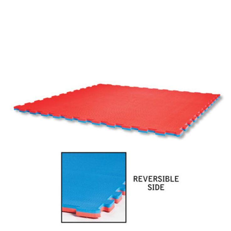 Century Reversible Puzzle Sport Mat Red/Blue Reversible - 014215224939