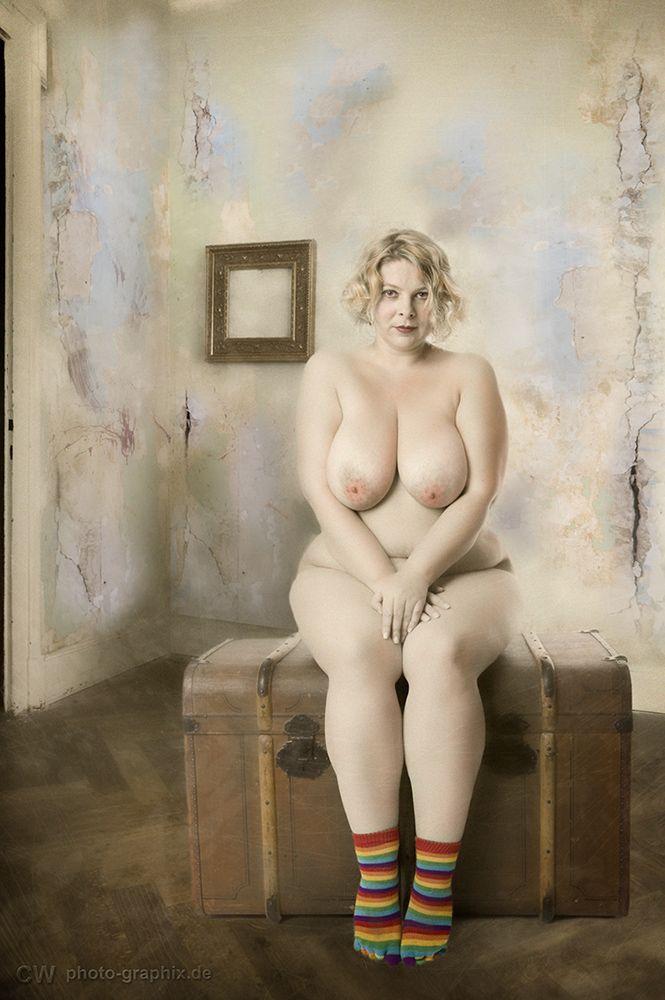 Naked girl public video