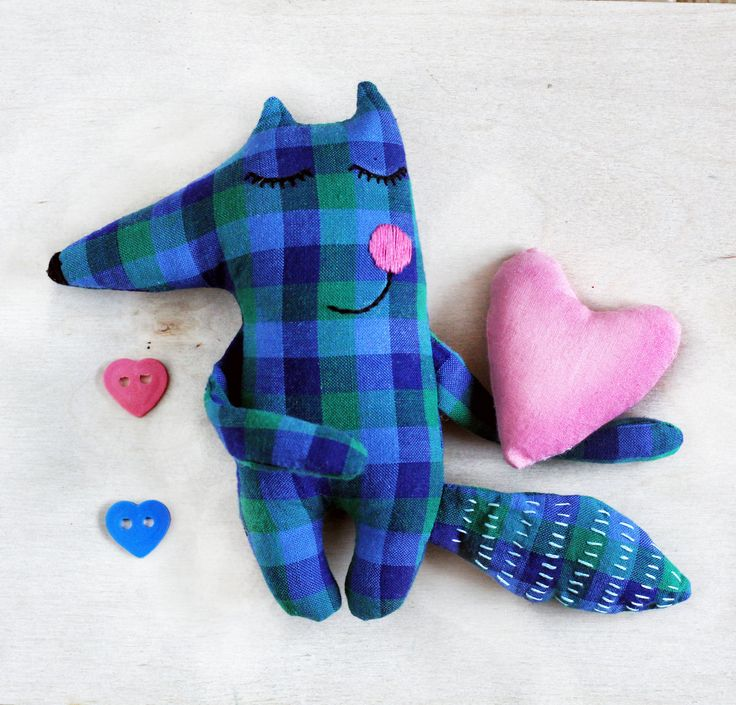 Textile soft toy Fox, stuffed Fox, handmade Fox, cute Fox toy, stuffed animals, cute handmade Toy, gift for kids, gift for Fox lovers by happygiftsUA on Etsy