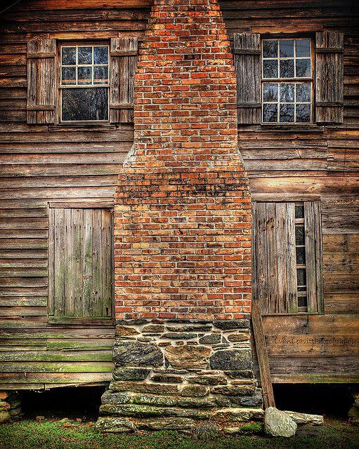 227 best images about primitive historic on pinterest for Brick cabin