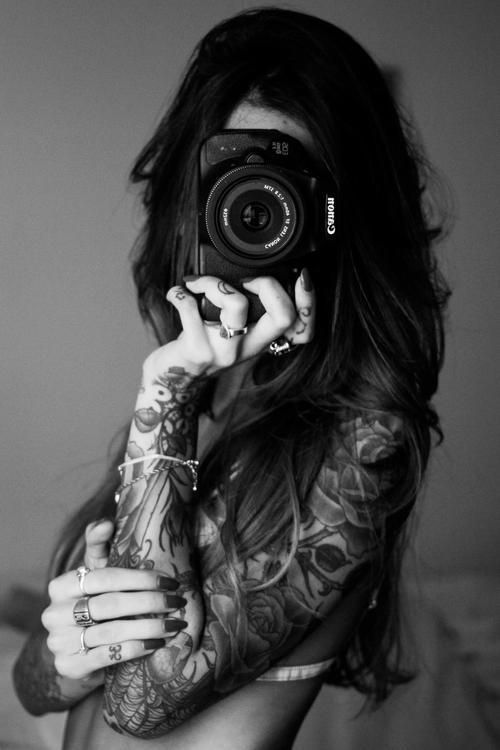 Camera and tattoos