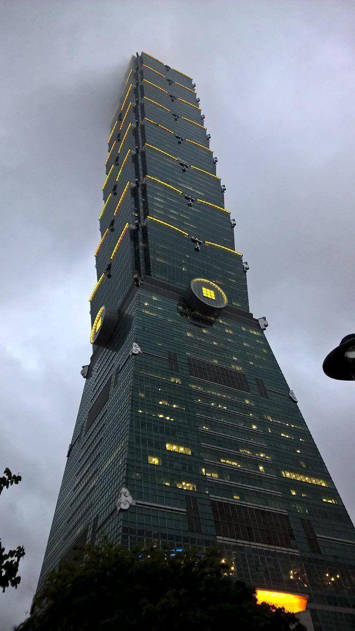 23. Обсерватория в Тайбэе, Тайвань #futuristicarchitecture