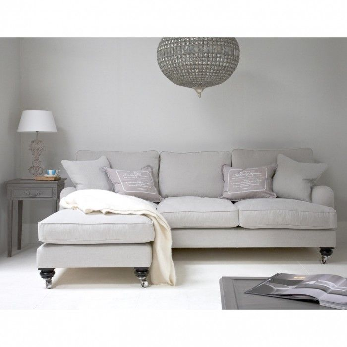 Valentine L Chaise Sofa  sc 1 st  Pinterest : cream chaise sofa - Sectionals, Sofas & Couches