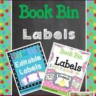 This Product includes 2 products:  40 Editable Labels and 80 Illustrated Book Bin Labels    Book Bin Labels for your classroom library available in...
