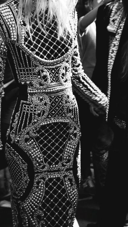 warrior dress bejeweled pearls