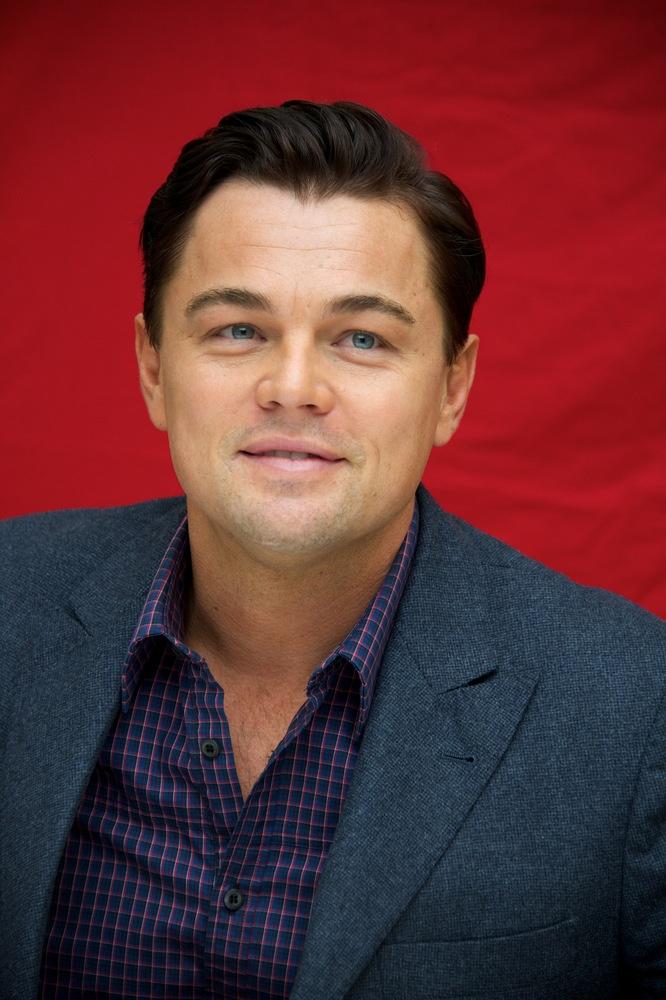 Leonardo DiCaprio - Django Unchained press conference portraits by Vera Anderson, December 2012