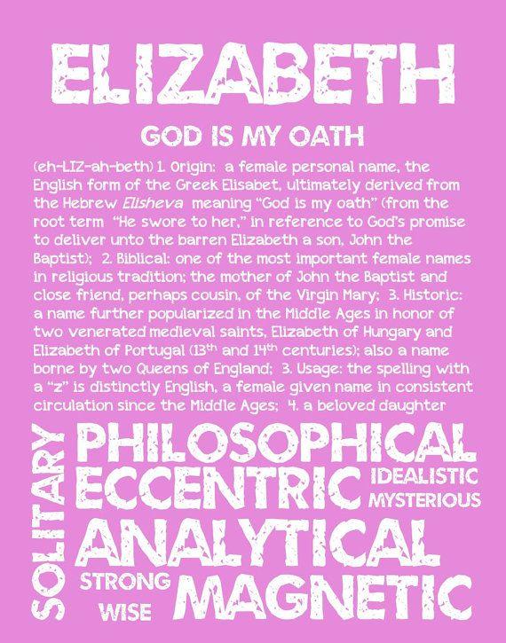 Numerology Name Elizabeth 2