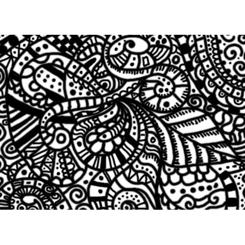 Abstract Halloween Coloring Pages : Difficult coloring pages for adults abstract