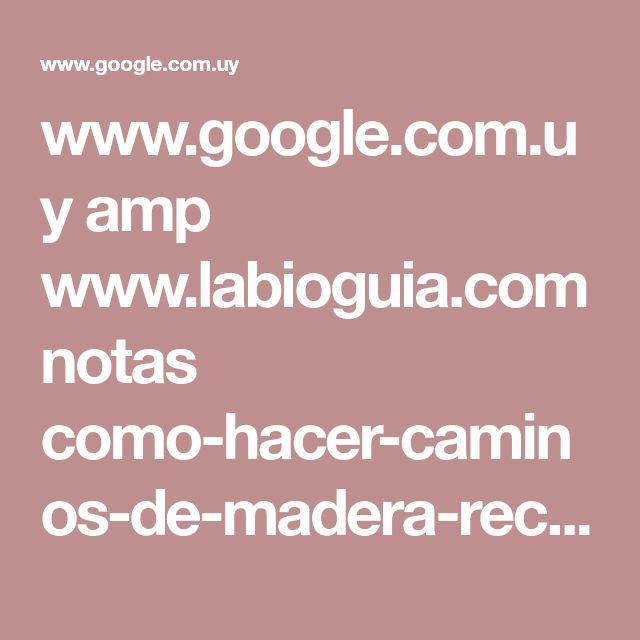 www.google.com.uy amp www.labioguia.com notas como-hacer-caminos-de-madera-reciclada-para-el-patio-o-jardin.amp