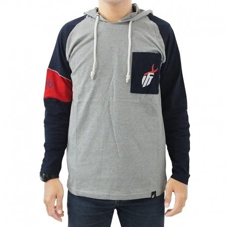 "Hoodie Mancing IFT ""BIG GAME (GREY)"""