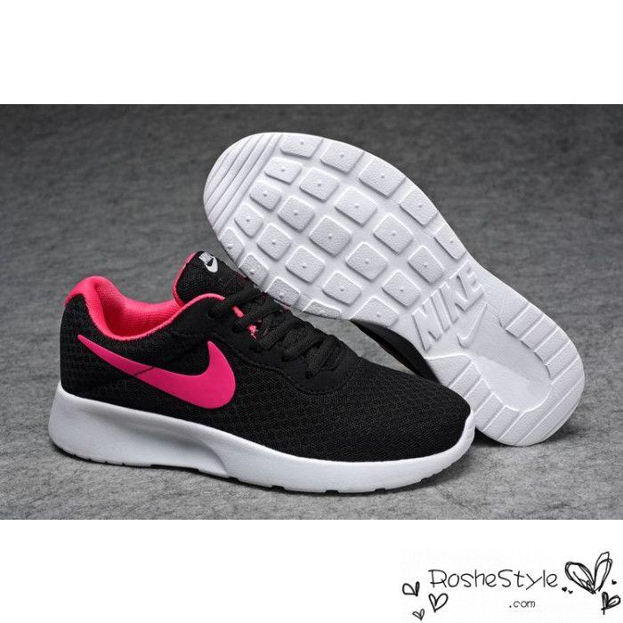 Womens Nike Tanjun Black Pink Running