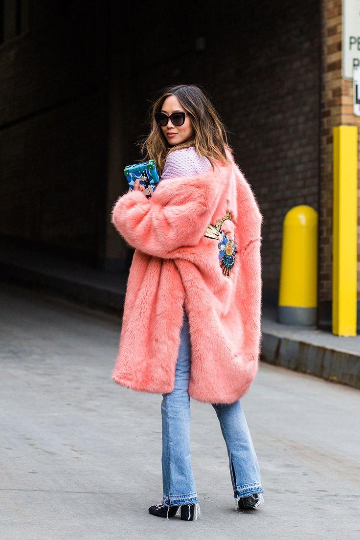 "vogueaustralia: "" Street style from New York fashion week autumn/winter '16/'17 """