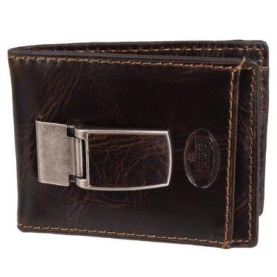 Carteira Fossil Men's Norton Id Bifold Money Clip Wallet, Brown, One Size #Carteira #Fossil